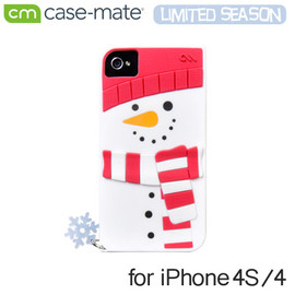 Case-Mate - Snowman iPhone4/4S Case