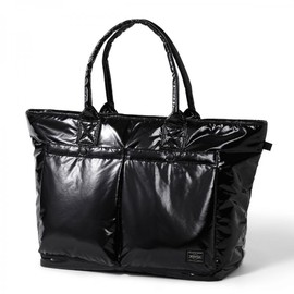 "fragment design, HEAD PORTER - ""MIRAGE"" TOTE BAG (L) BLACK"
