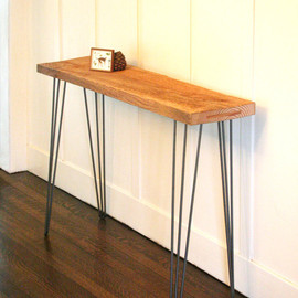birdloft - island barn console table