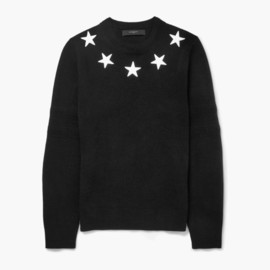 GIVENCHY by Riccardo Tisci - givenchy star trimmed wool sweaters
