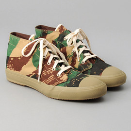 "THE HILL-SIDE - SN3-205 - French ""Lizard"" Camo Chukka Sneakers"