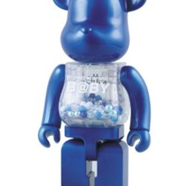 MEDICOM TOY - MY FIRST BE@RBRICK B@BY ベアブリック 千秋 BLUE 400%( colette ver.)
