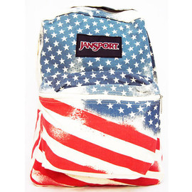 JANSPORT - JANSPORT / SUPER FX (WHITE FADED STARS - TVP8 9UF)