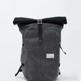 nanamica - Cycling Pack Grey Herringbone