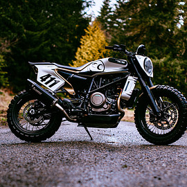 See See Motorcycles - 2019 Husqvarna Svartpilen 'Black Arrow'