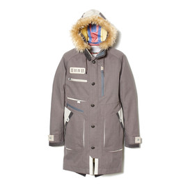 White Mountaineering - GORE-TEX POLYESTER BUTCHER MODS COAT