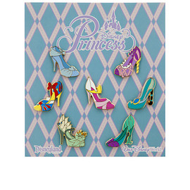 Disney - Disney Princess Slippers Pin Set