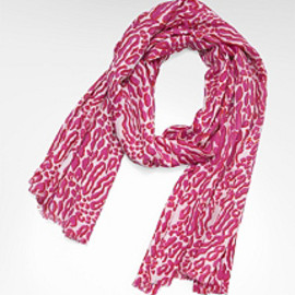 TORY BURCH - FOUNDATION CHEETAH SCARF