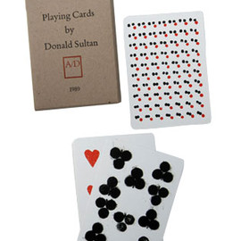 Donald Sultan - Playing Cards