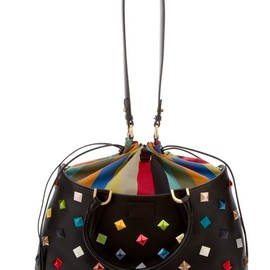 FENDI - B.Fab - Multicoloured studded Bag