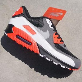 Nike - NIKE AIR MAX 90 OG BLACK/NEUTRAL GREY-DARK GREY-WHITE