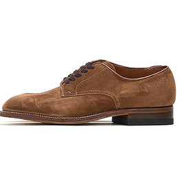 Alden - 53504 Snuff Suede 5eye Plain Toe Ox.-Brown