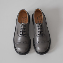 Oxford Shoe / Black x Black , 2Tone