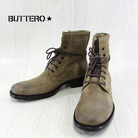 BUTTERO - B2294 LACE UP BOOTS