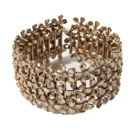 Accessorize - Metal Flower Stretch Blt