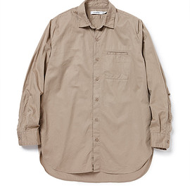 nonnative - FELLER LONG SHIRT C/L TWILL