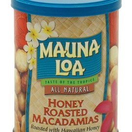 MAUNA LOA - HONEY ROASTED MACADAMIAS