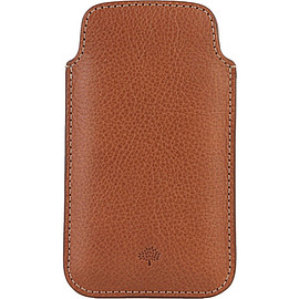 MULBERRY - Natural leather iPhone 5 case (Oak