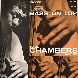 Paul Chambers Quartet ‎ - Bass On Top (Vinyl,LP)