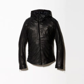 PERSONAL JESUS - LEATHER JACKET Sheepskin with Crocodile