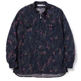 NONNATIVE - WORKER PULLOVER SHIRT RELAXED FIT COTTON LAWN LIBERTY® PRINT