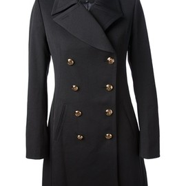 McQ, Alexander McQueen - Double-breasted twill coat