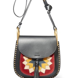 Chloé - Hudson Wonder Woman small leather and suede shoulder bag