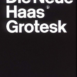 "Haas'che Schriftgiessersi AG - ""Die Neue Haas Grotesk"" Typeface Pattern Manual designed by Josef Müller-Brockmann"
