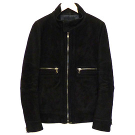 junhashimoto - single suede riders jacket