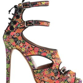 Tabitha Simmons - Flower 12cm High Heel Shoes (Arrow loves them)