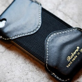 Leather Factory ROBERU - iPhone4S Case