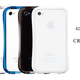 Deff - CLEAVE BUMPER for iPhone4/4S CRYSTAL EDITION