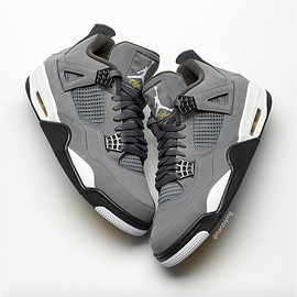 "NIKE - Nike Air Jordan 4 Retro ""Cool Grey"""