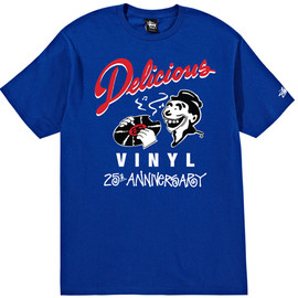 Stussy x Delicious Vinyl 25th Anniversary Collection Tee