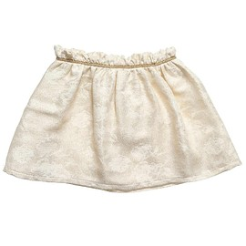 Chloé, クロエ - Girls Gold Floral Brocade Skirt