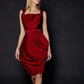 Vivienne Westwood Red Label - Vivienne Westwood Red Label Corseted Faille Dress