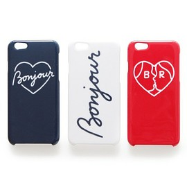 Bonjour Records, Jean Andre - JEAN ANDRE loves BONJOUR RECORDS iPhone case