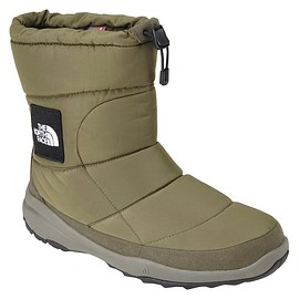 THE NORTH FACE - NUPTSE BOOTIE WP IV LOGO SAGE GREEN