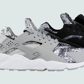 Nike - Nike Air Huarache Snow Camo Pack