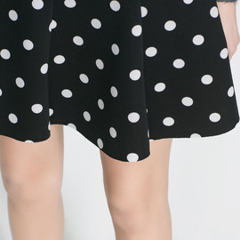 ZARA - Polka dot skirt