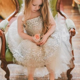 wedding - flower girl