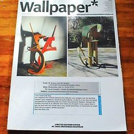 Wallpaper magazine July 2009 Limited Edition Cover by Peter Saville and Nick Knight