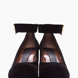 MARNI - ankle strap wedges