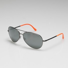 RALPH LAUREN - Two-Tone Aviator Sunglasses - RLX Sunglasses - RalphLauren.com