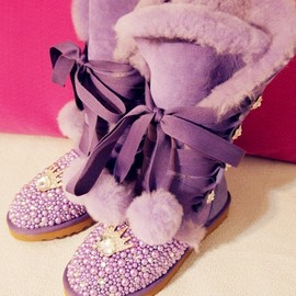 UGG - Princess Purple UGG Boots