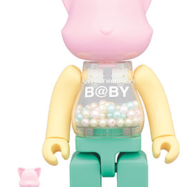 MEDICOM TOY - MY FIRST NY@BRICK B@BY 100% & 400%