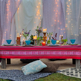 Outdoor Bohemian Style Summer Party | Beautiful Matters