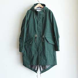 White Mountaineering - GORE-TEX CORDUROY MODS COAT (green)