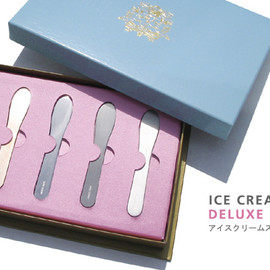 清水久和/SABO STUDIO - ICE CREAM SPOON DELUX SET