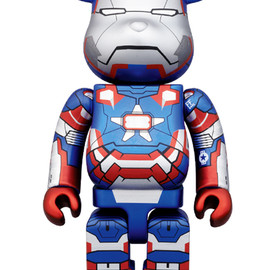 MEDICOM TOY - BE@RBRICK IRON PATRIOT 400%